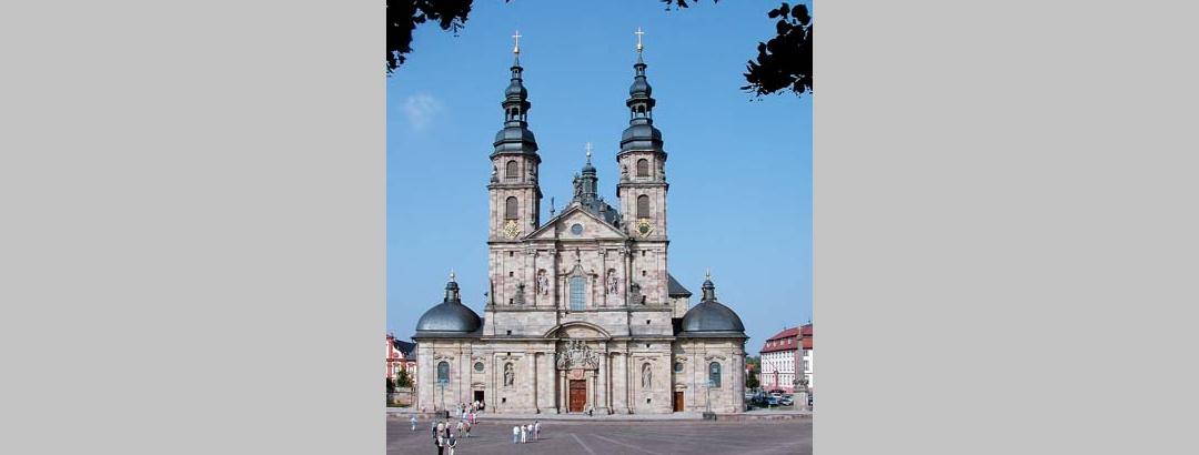 Unser Ziel - der St. Bonifatius-Dom in Fulda.