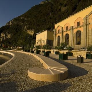 La centrale idroelettrica di Riva del Garda