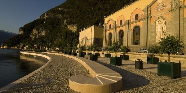 The hydroelectric plant in Riva del Garda
