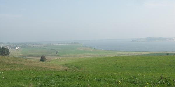 Blick auf den Greifswalder Bodden.