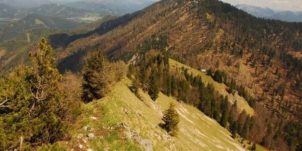 Ausblick Richtung Mariazell