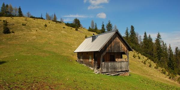 Jagdhütte am Zellersattel