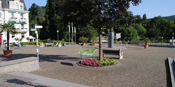 Badenweiler Schlossplatz
