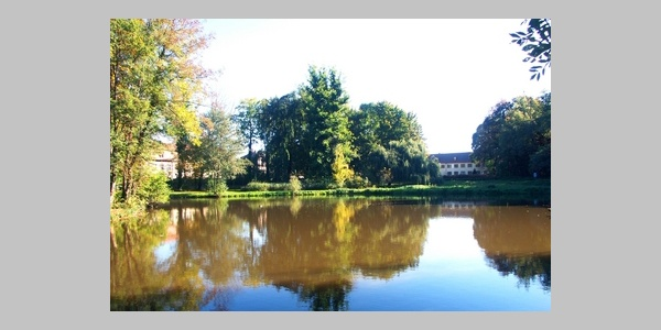 Schlosspark von Wiesentheid.