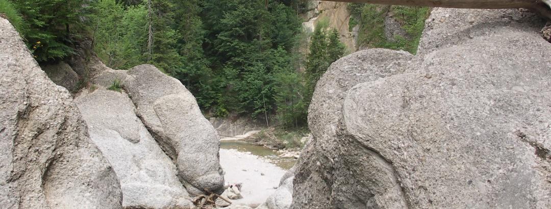 Blick vom Oberen Wasserfall