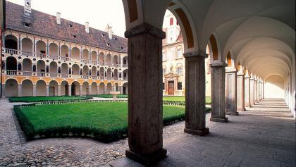 In der Hofburg von Brixen ist das Diözesanmuseum untergebracht.