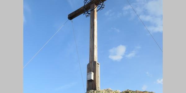 Gipfelkreuz Zamangspitze