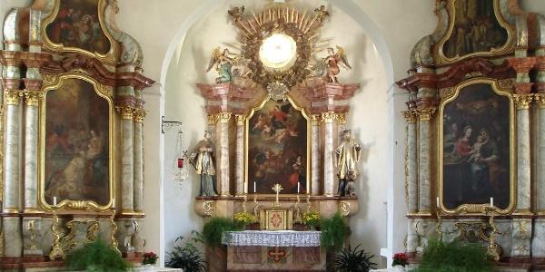 Schleinsee: Kapelle Mariä-Himmelfahrt