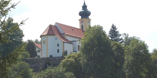 Kirche in Wildsteig.