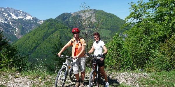 Mountainbike-Tour zur Schaumbergalm