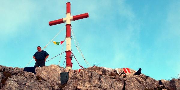 Warscheneck-Gipfelkreuz 2388m