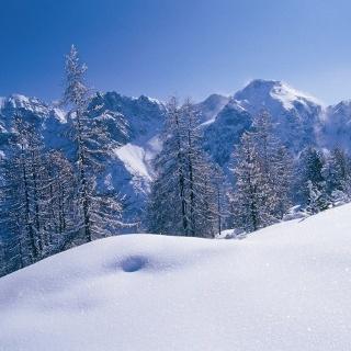 Stubai Winterlandschaft
