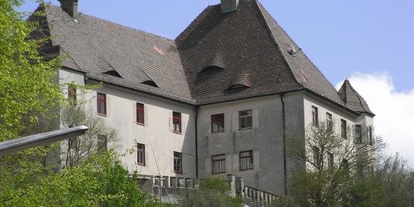 Das Schloss Eisenburg.