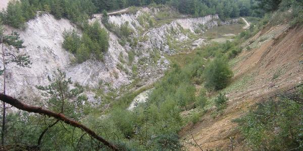 Am Rand der ehemaligen Grube