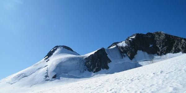 Blick über den Sulzenauferner zur Zuckerhütl-Nordwand