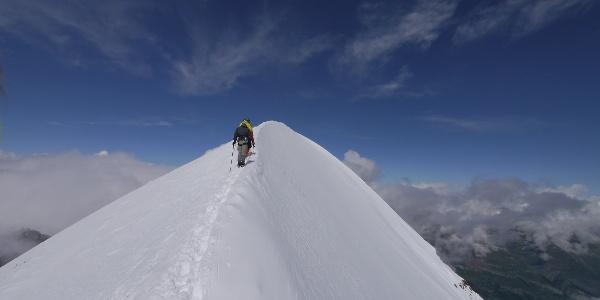 Am Breithorn (4.164 m)