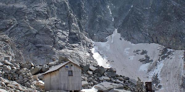 die in der AVK eingetragene Bergwachthütte