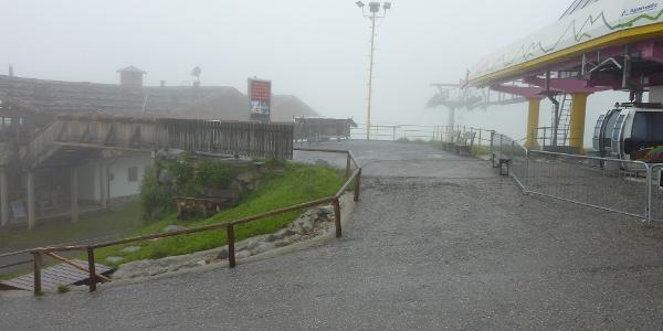 An der Bergstation