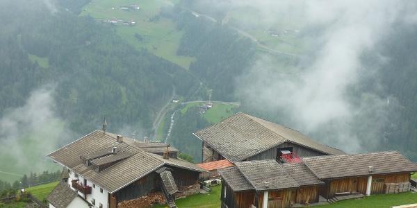 Blick auf Obersteinerhof