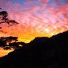 Sonnenaufgang Haute Ascu 1422m