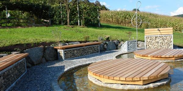 5-Elemente-Weg | Baumgarten bei Gnas, Element Wasser