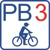 """Routenlogo """"PB3"""""""