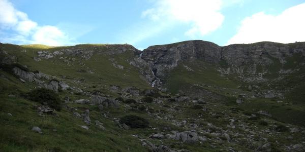 Wasserfall unterhalb der ersten Hochfläche