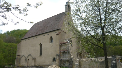 Alte Kirche in Christgarten