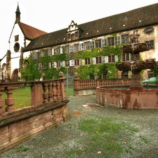 Das Kloster Bronnbach.