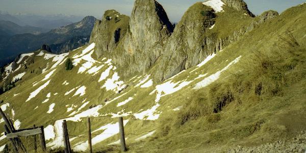 Aufstieg von Rotwandhütte zur Rotwand