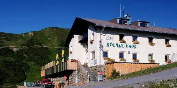 Kölner Haus auf Komperdell 1.965 m