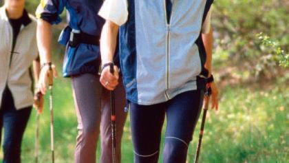 Nordic Walking ist gesund und macht Spaß.