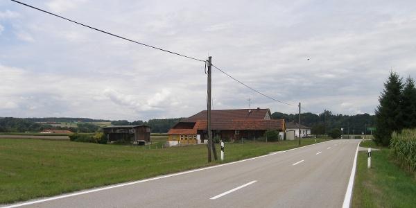In Voglarn erreichen wir den westlichsten Punkt unserer Radwandertour.