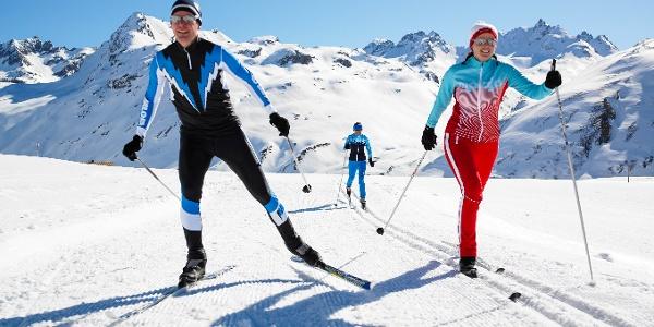 Langlaufen in der Silvretta-Bielerhöhe