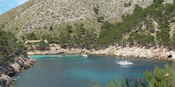 Die traumhafte Bucht Cala Murta