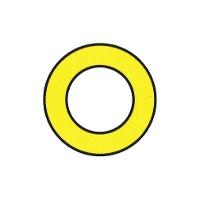 Markierungszeichen Kreisring
