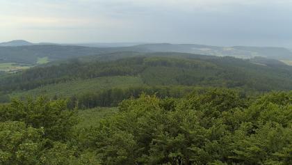 Der Rundumblick vom Aussichtturm der Großen Haube.