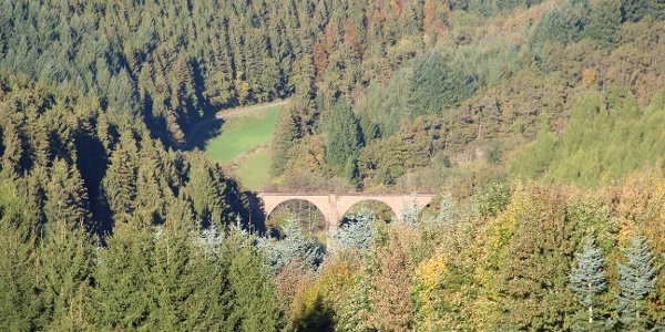 Viadukt zwischen Rascheid und Geisfeld