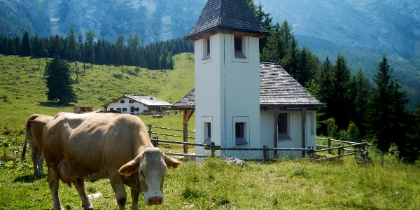 Kapelle auf der Kührointalm