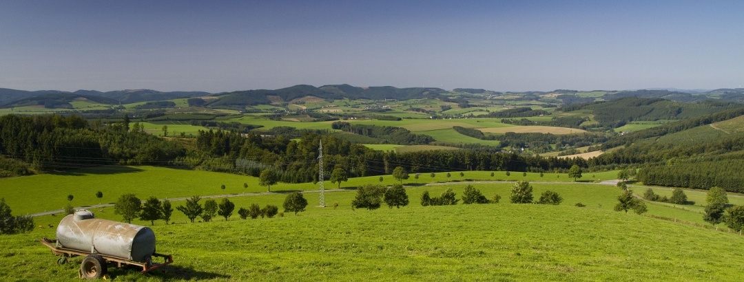 Ausblick oberhalb von Altenilpe