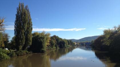 Rottenburg. Blick auf den Neckar