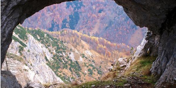 Felsenfenster 1550m