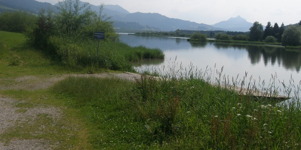 "View over lake ""Grüntensee"""