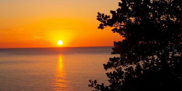 Pedra Longa, Sonnenaufgang