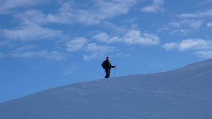 Auf Skitour in den Allgäuer Alpen.