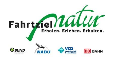 Logo DB Vertrieb GmbH, Fahrtziel Natur