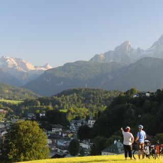 Fernradweg Bodensee-Königssee-Radweg Watzmann bei Berchtesgaden