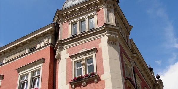 Rathaus Auerbach/Vogtl. - Teilansicht
