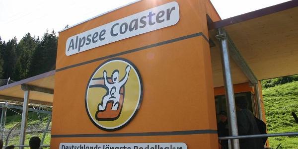 Der Alpsee Coaster.