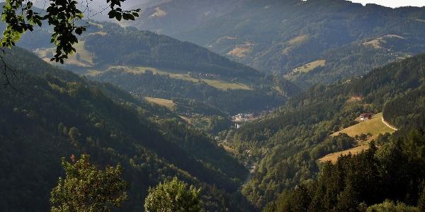 Blick auf St. Gertraud - Twimberger Graben